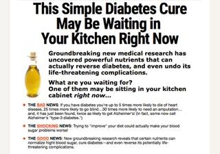 Online Publishing & Marketing, LLC Diabetes